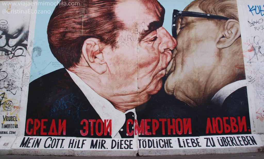 East Side Gallery, Muro de Berlín