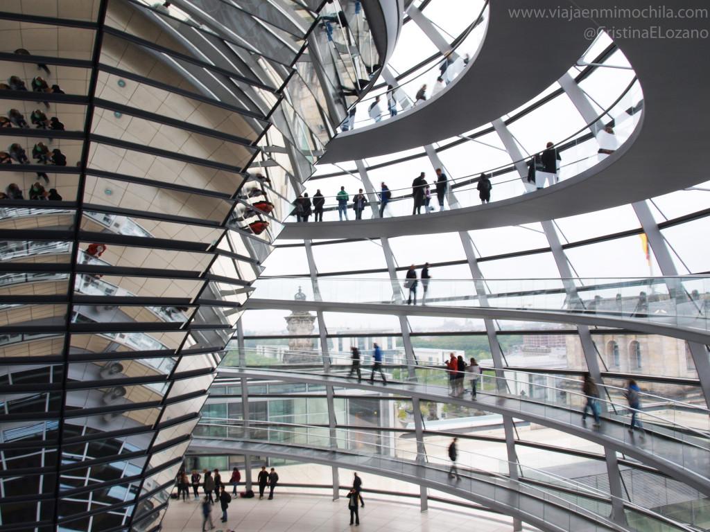 Cúpula del Reichstag, Berlín
