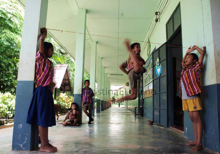 Chiang Sean Tailandia voluntariado de profesora