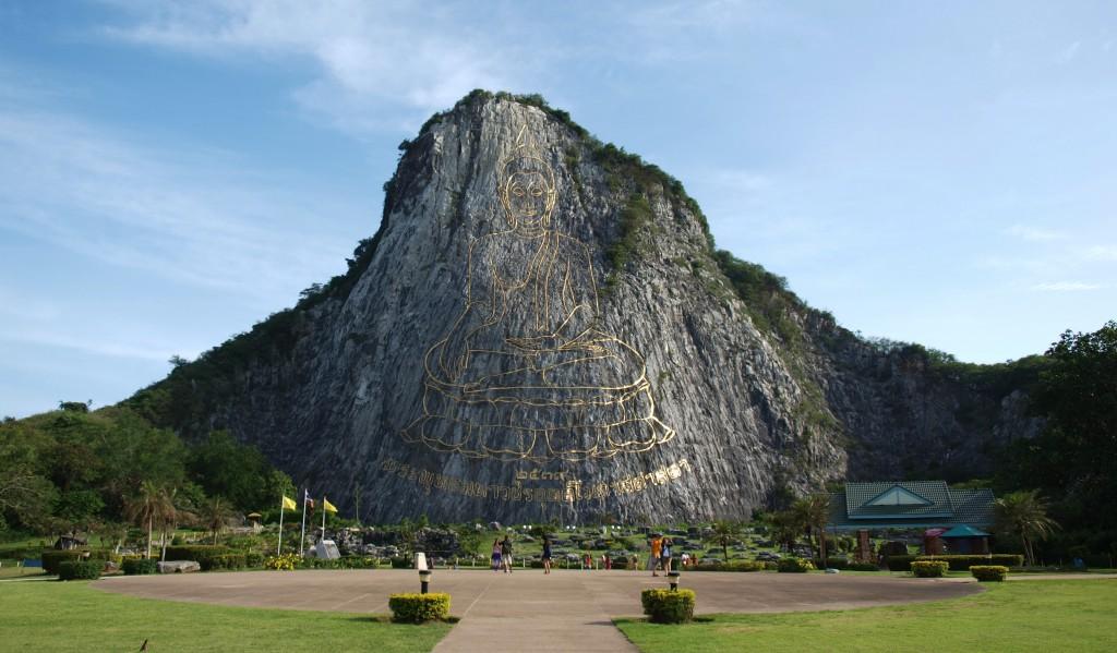 La montaña de Buda. Pattaya (Tailandia)