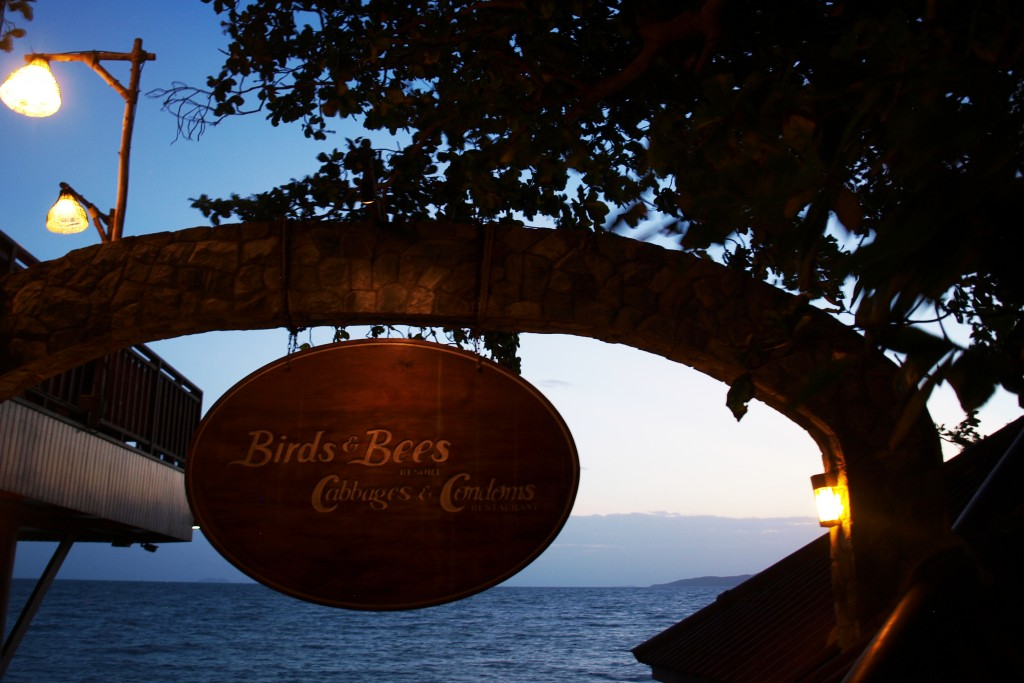 Birds and Bees, Cabagge and Condoms Resort. Pattaya (Tailandia)