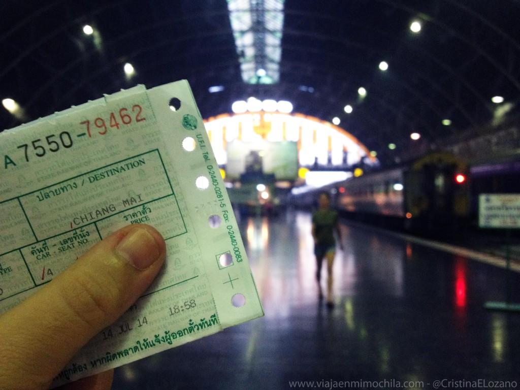 Estación de Hua Lamphong. Bangkok. Tailandia