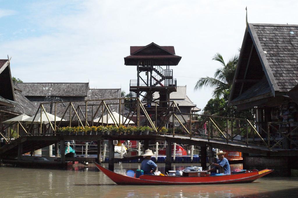 Mercado flotante de Pattaya (Tailandia)
