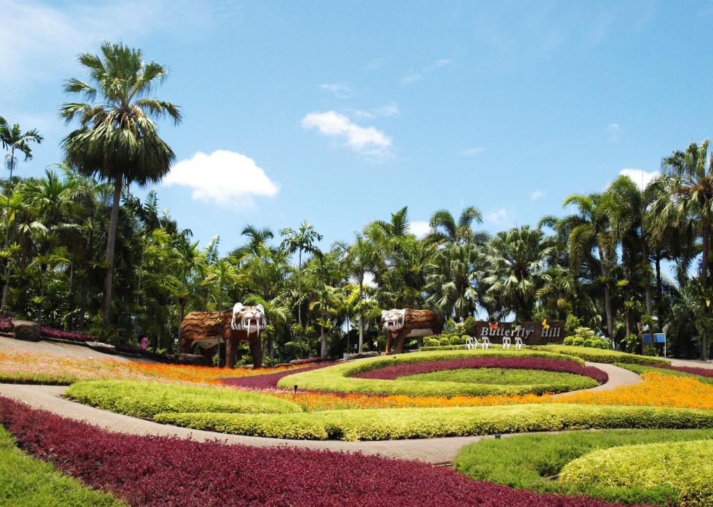 Nong Nooch Garden. Pattaya (Tailandia)