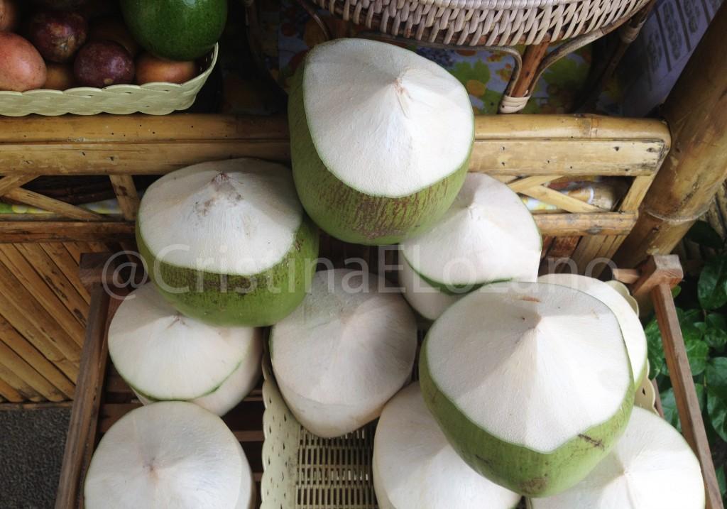 Cocos grandes. Tailandia