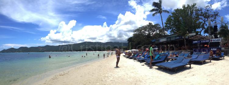 Playa de Chaweng. Koh Samui, Tailandia