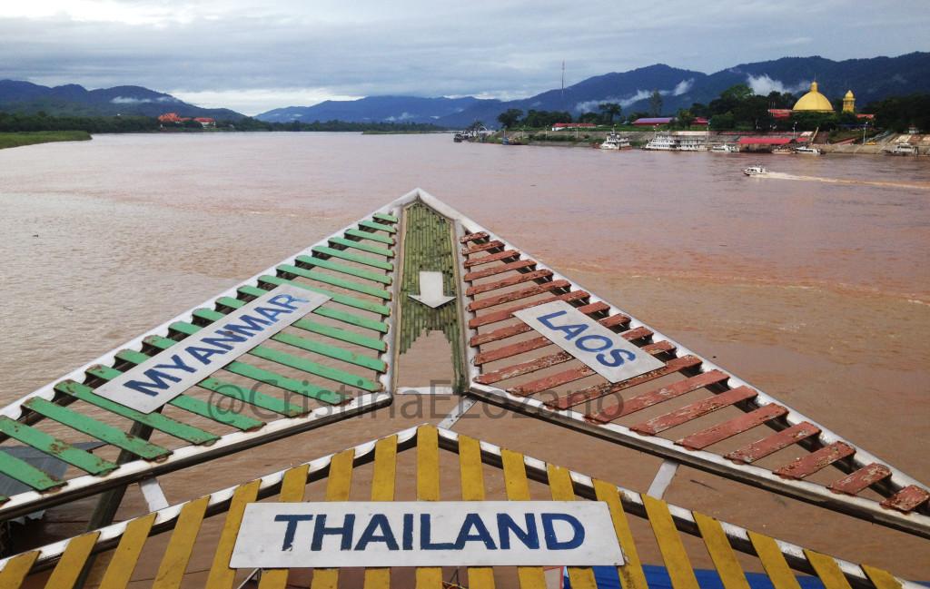 Triángulo de oro.  Myanmar, Laos, y Tailadia
