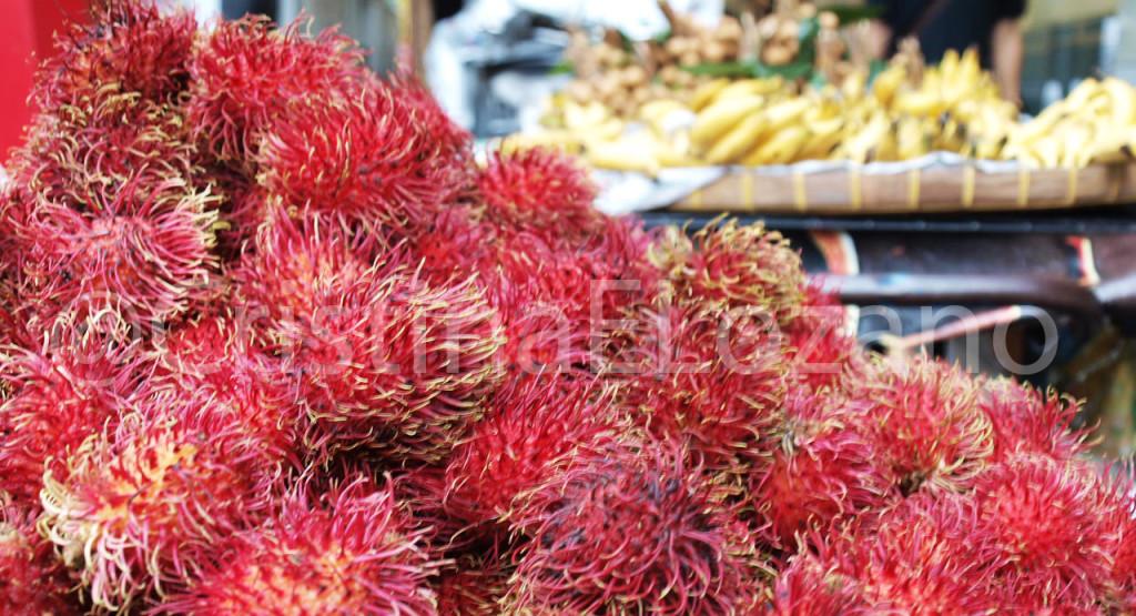 Rambutan en Tailandia