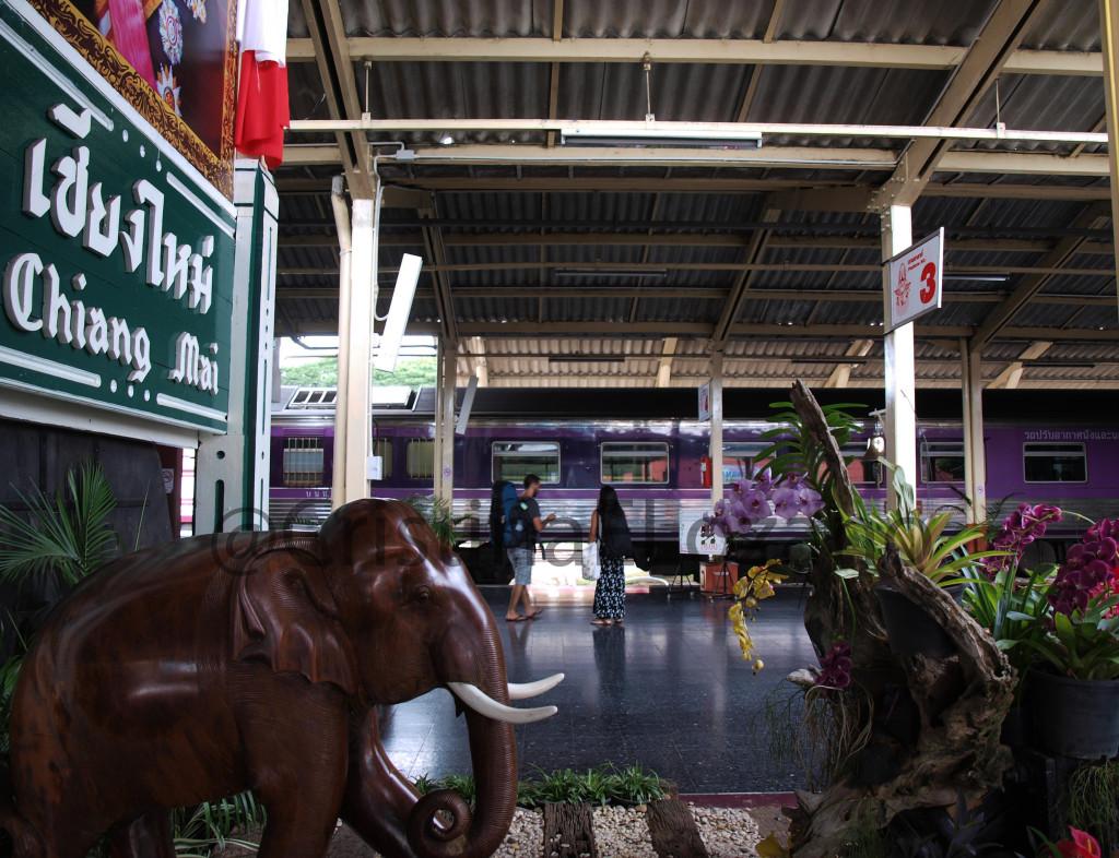Vagones solo para mujeres. Chiang Mai (Tailandia)