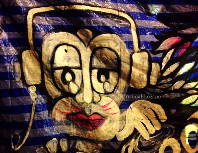 Full Moon Monkey. Koh Phangan, Tailandia