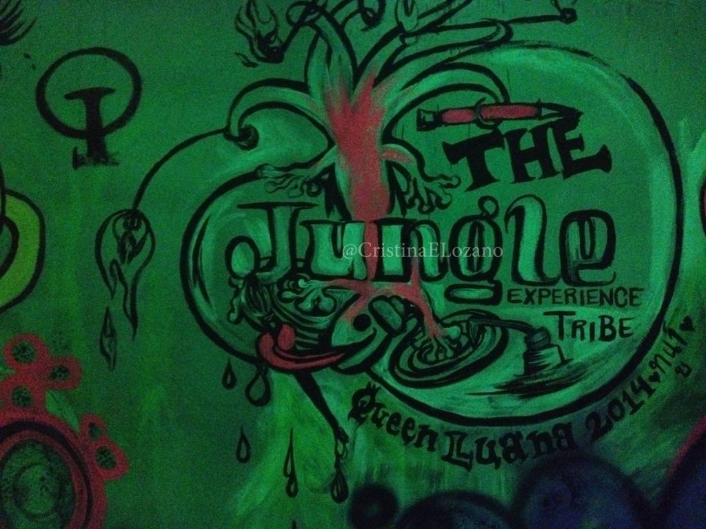 Jungle Experience Graffiti. Koh Phangan, Tailandia