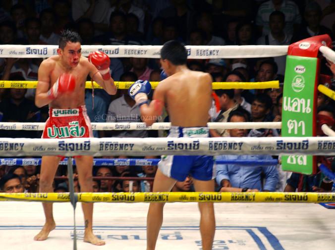 Combates muay thai gratis en Bangkok