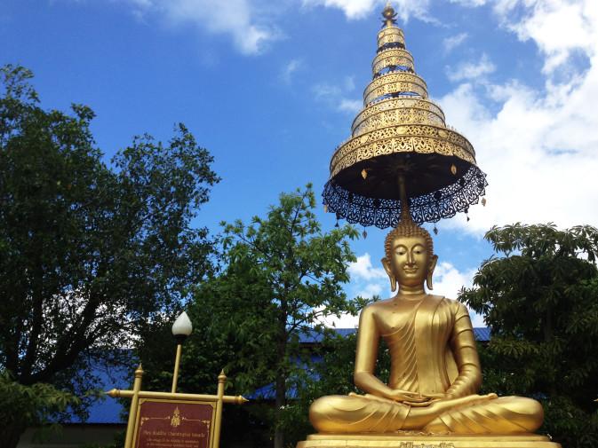 Meditación en el Wat Suan Dok