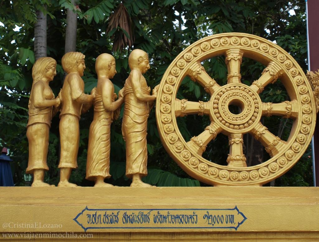 Detalle wat de Chiang Saen