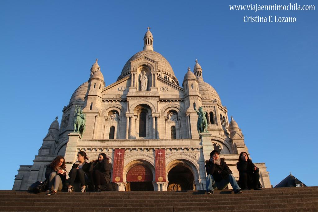 Sacré-Coeur. París (Francia)