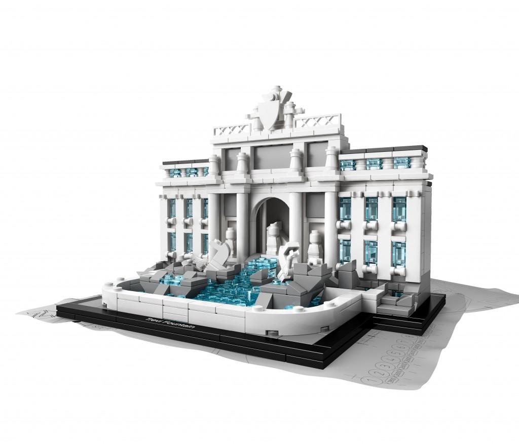 Fontana de Trevi (Roma) de Lego