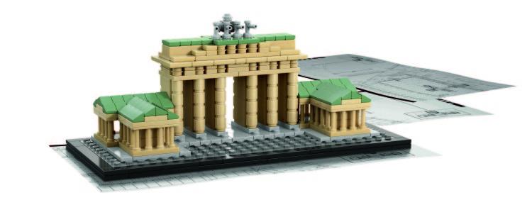 Puerta de Brandenburgo (Berlín) de Lego