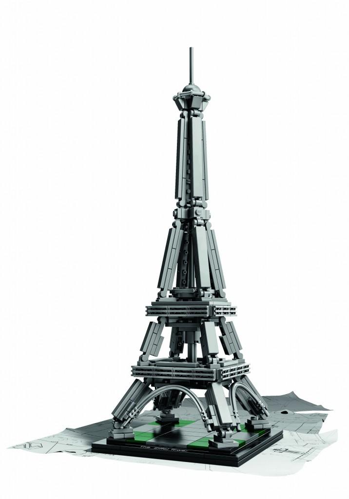 Torre Eiffel (París) de Lego