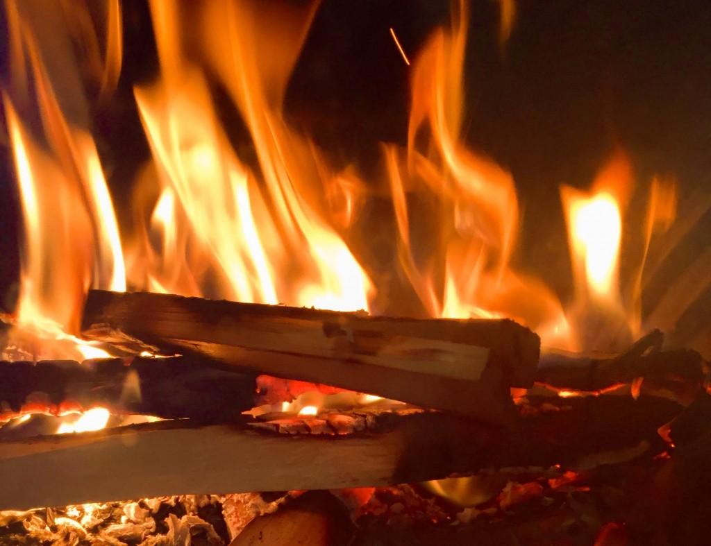 Mi primer fuego. Voss (Noruega)