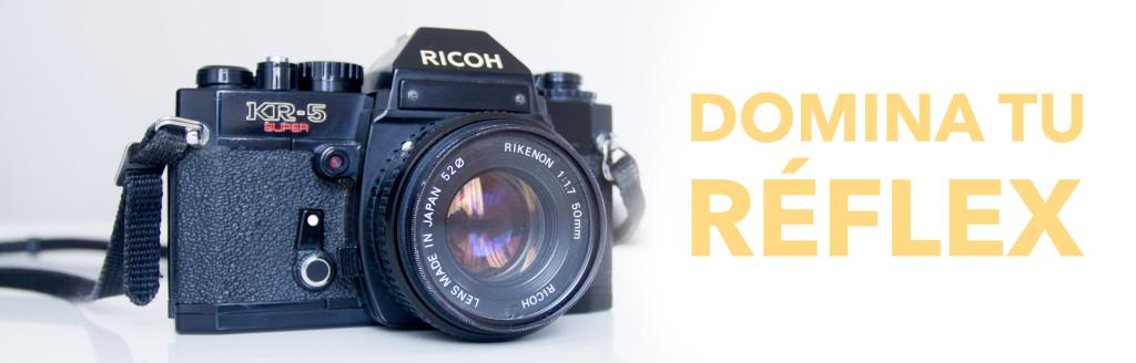 Curso de fotografía para aprender a manejar una cámara reflex