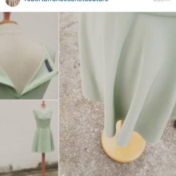 Septimo vestido de #robertafranceschetcouturecollection