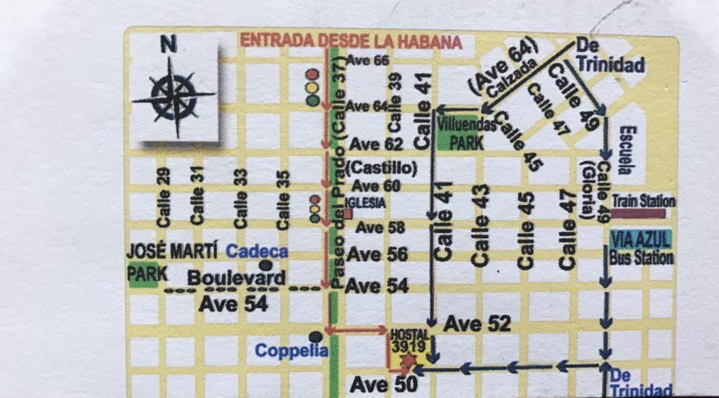 Dormir en casas de Cubanos Cienfuegos Casa Yosvani II