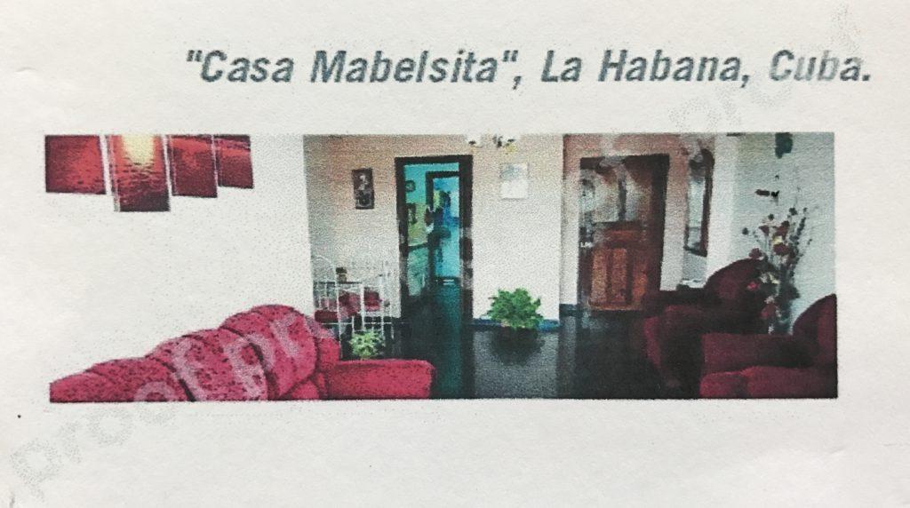 Dormir en casas de Cubanos Vedado La Habana Casa Mabelsita II
