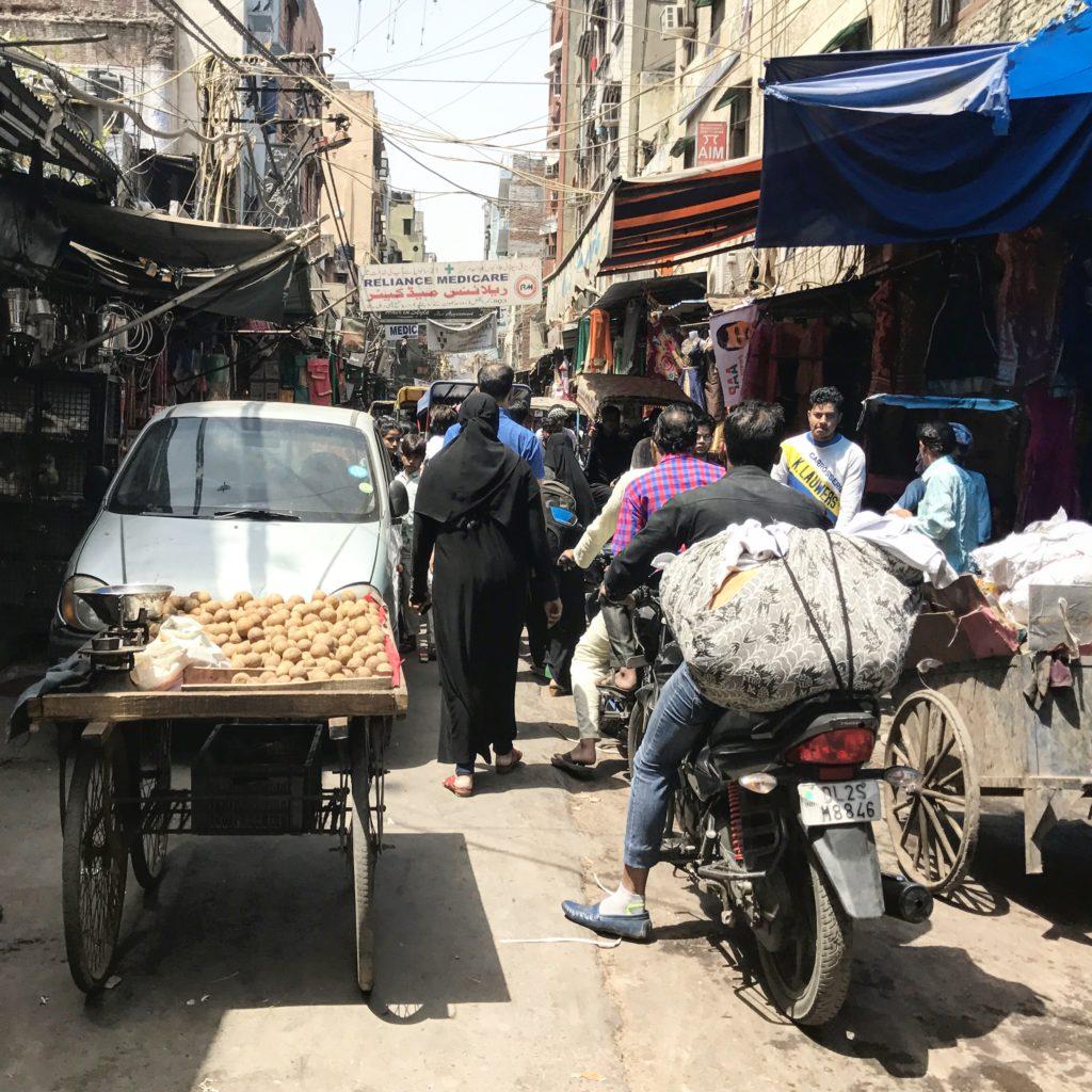 Mercado de Chandni Chowk, Nueva Delhi (India)