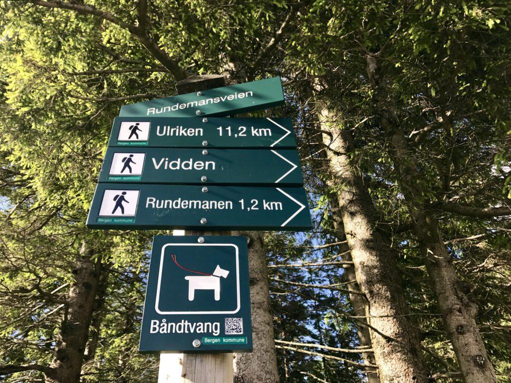 rutas monte floyen bergen