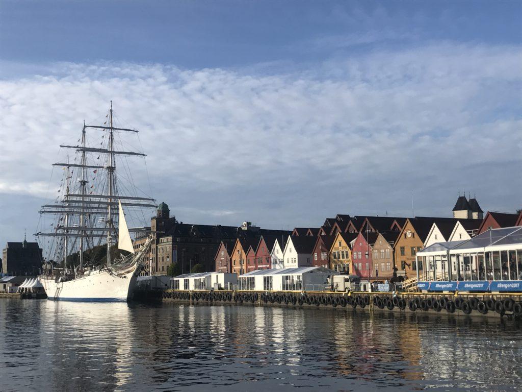Bryggen Bergen Noruega