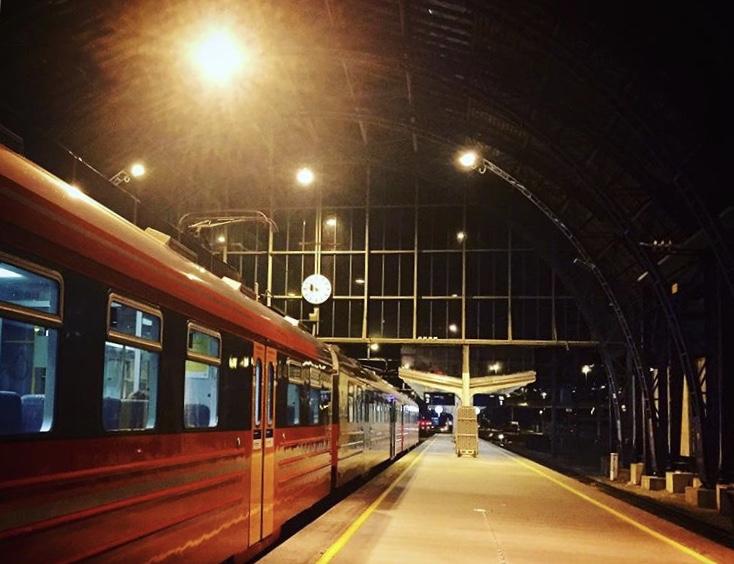 estación de tren de bergen noruega