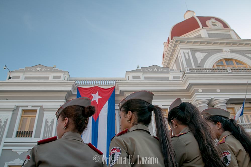 Guía rápida de Cuba- una calle de Cienfuegos, Cuba-2