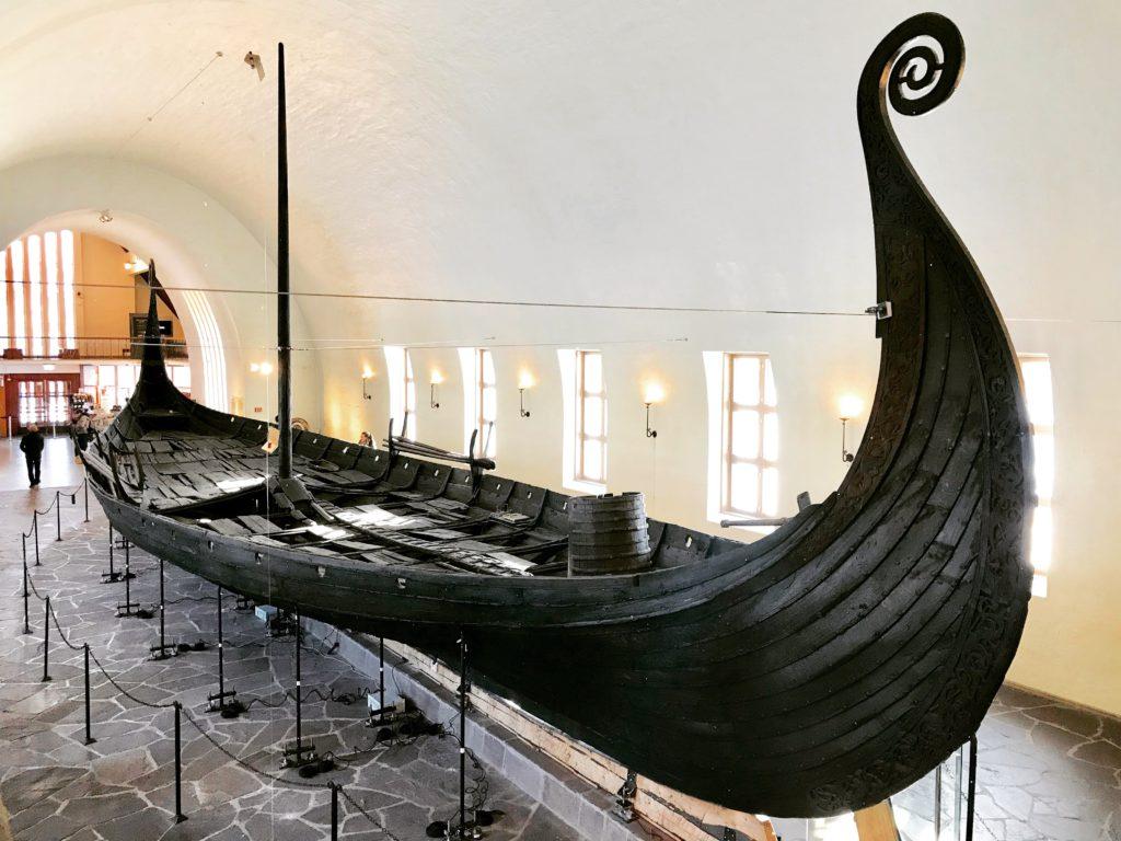 Museo de los barcos vikingos de Oslo o Viking Ship Museum of Oslo (Noruega)