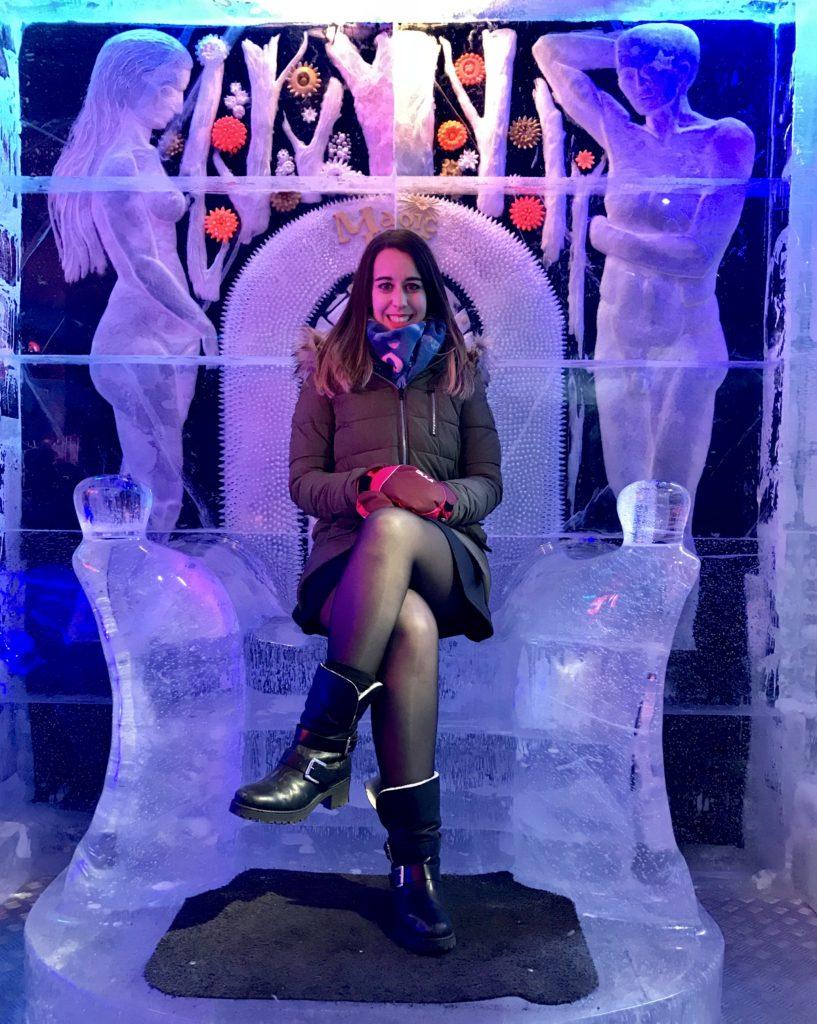 Magic Ice Oslo. Bar de Hielo de Oslo (Noruega)