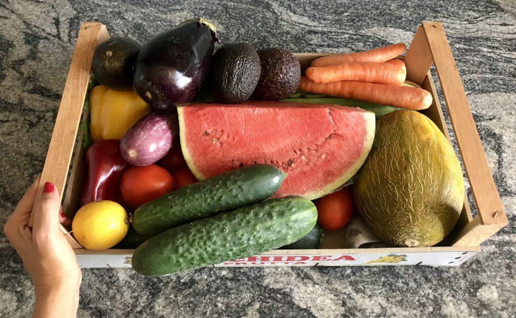 Frutas baratas Ibiza vegetarianos