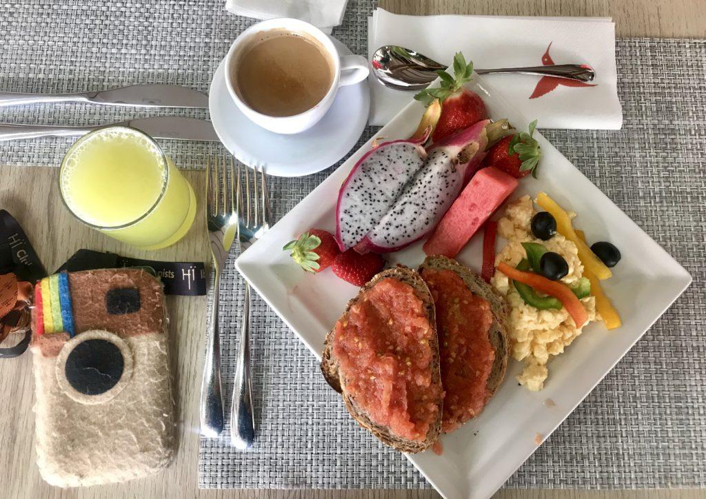 Qué lleva el desayuno de Usuahïa (Ibiza)