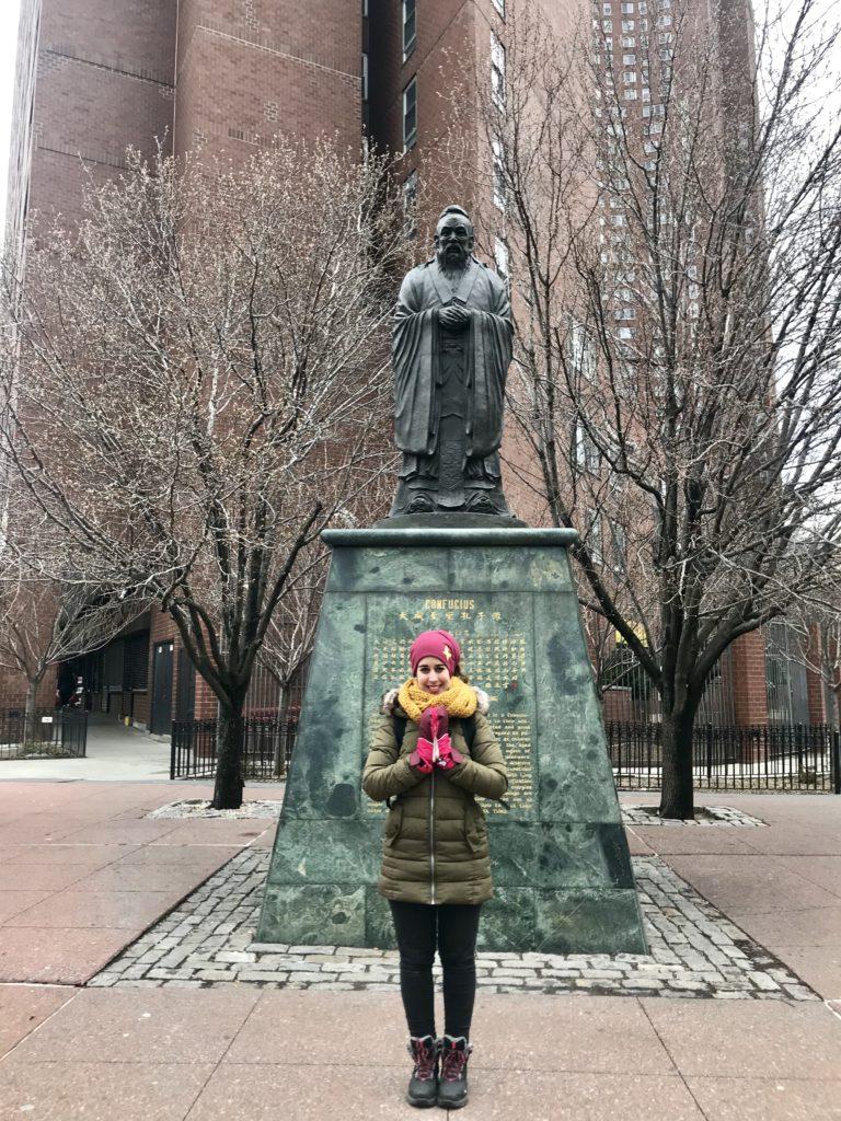 Confucio China Town de Nueva York