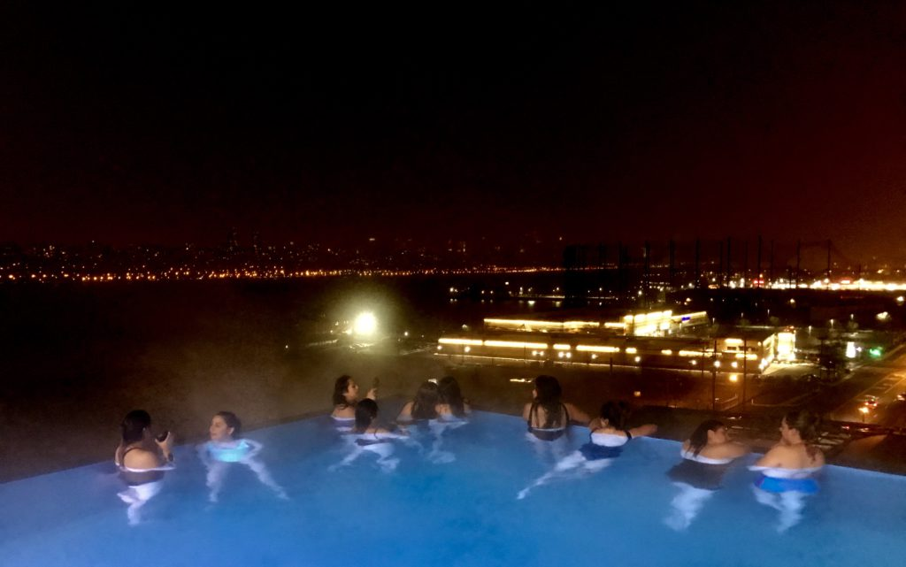 Solo Spa Club, Spa con vista a Manhattan Nueva York