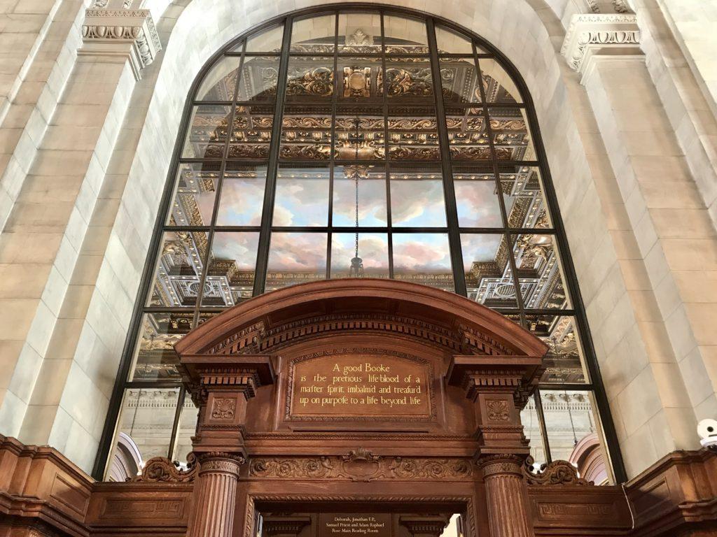 Biblioteca Publica de Nueva York (entrada gratuita)