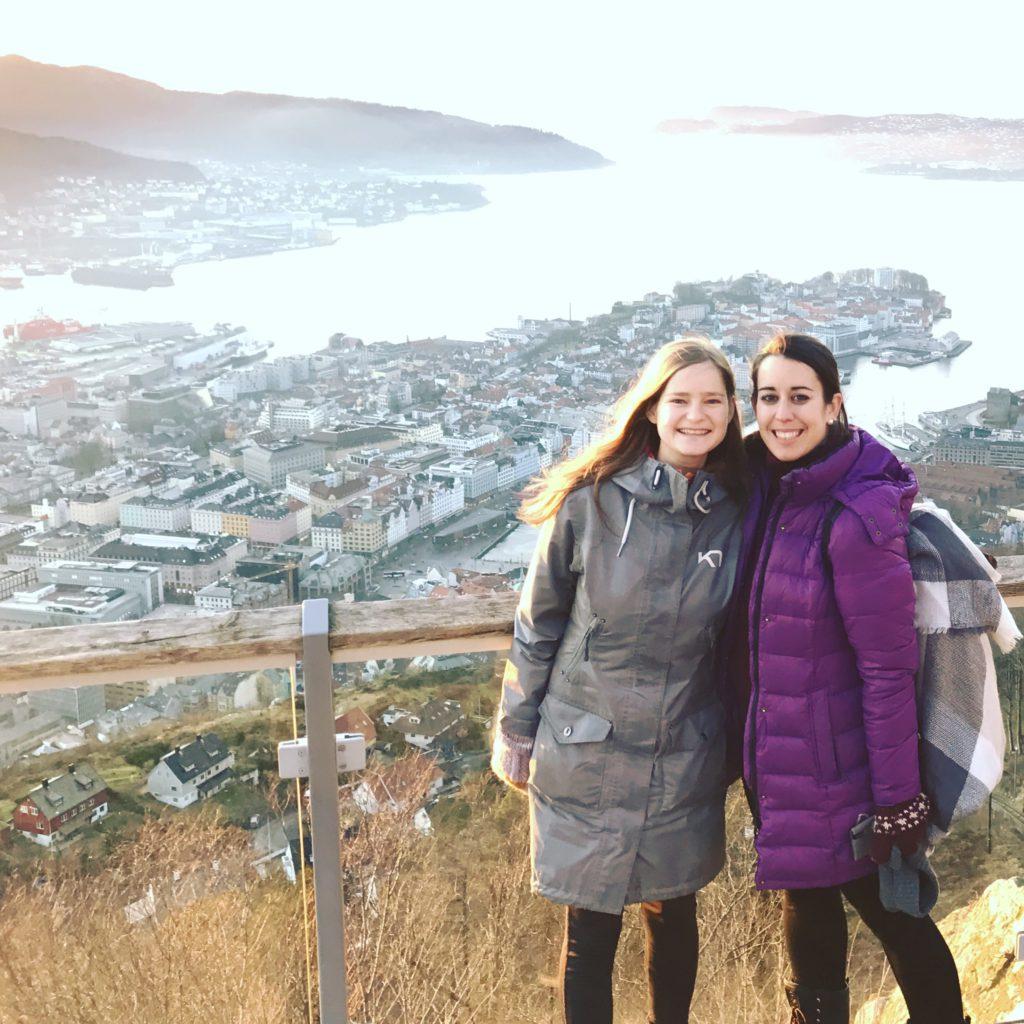 Floibanen. Cómo subir al funicular del monte Floyen de Bergen