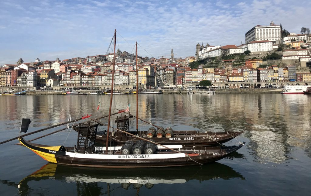 Free tour porto Portugal Gaia barcos Duero