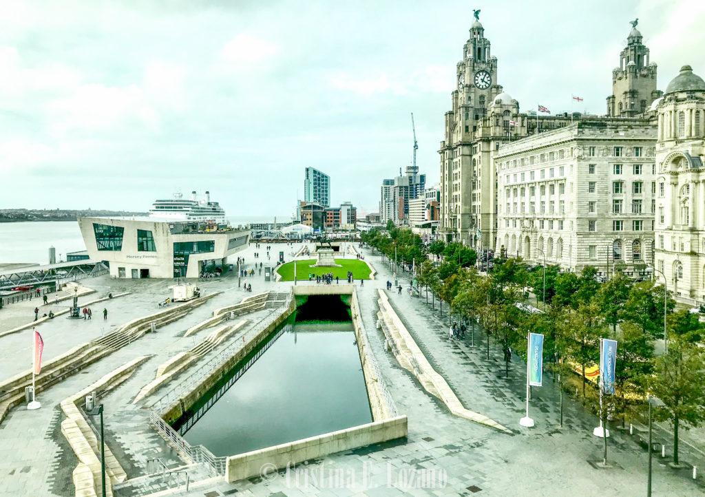 Centro de Liverpool. Qué ver gratis en Liverpool. Edificio liver