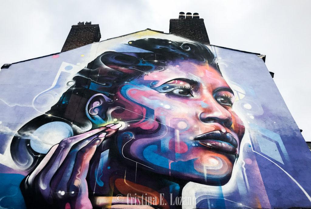 Qué ver y que hacer en Liverpool gratis. Graffitis chulos de Liverpool. Urban Art y murales para Instagram en Iglaterra