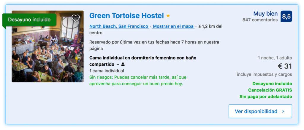 San Francisco. Hoteles baratos. Donde dormir en SF barato y seguro