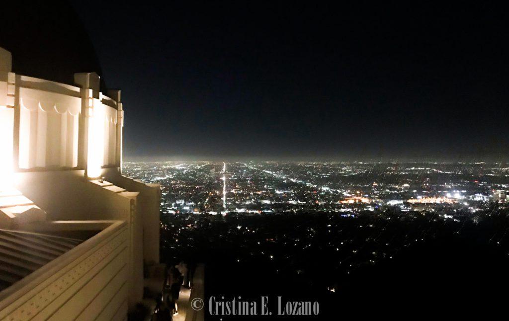 Mirador y vistas desde el Griffith Observatory de Los Angeles_
