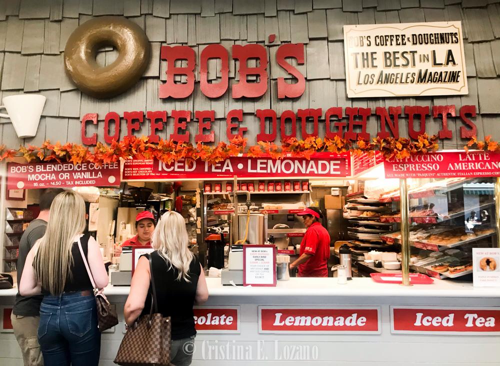 cafe y donuts en los angeles