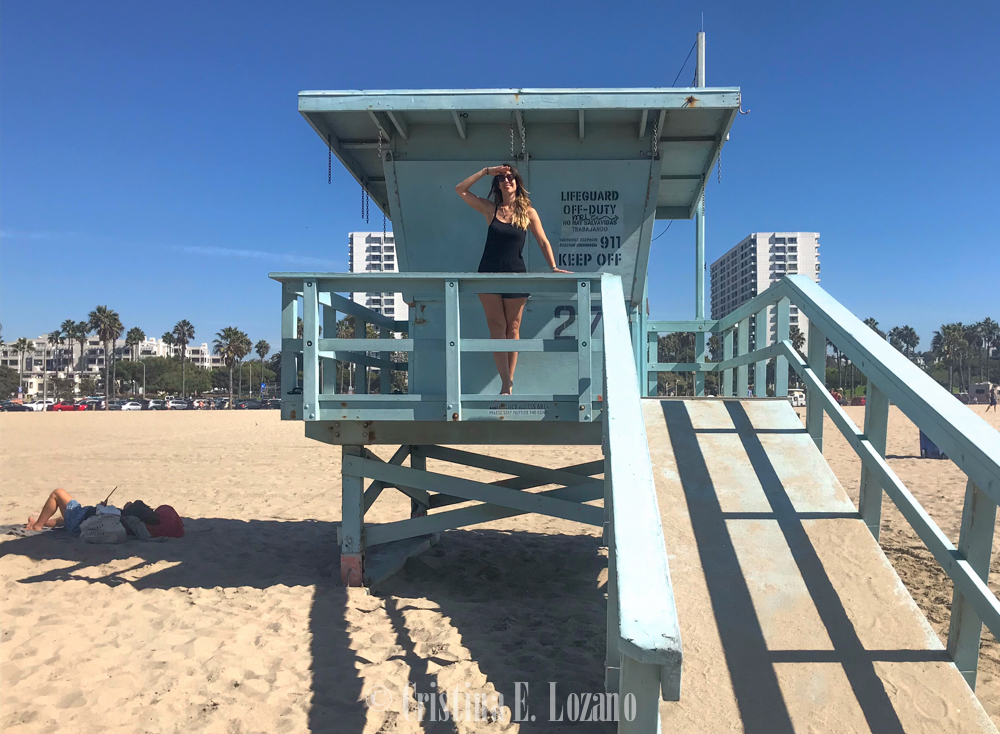 foto vigilante de la playa Los Angeles-2