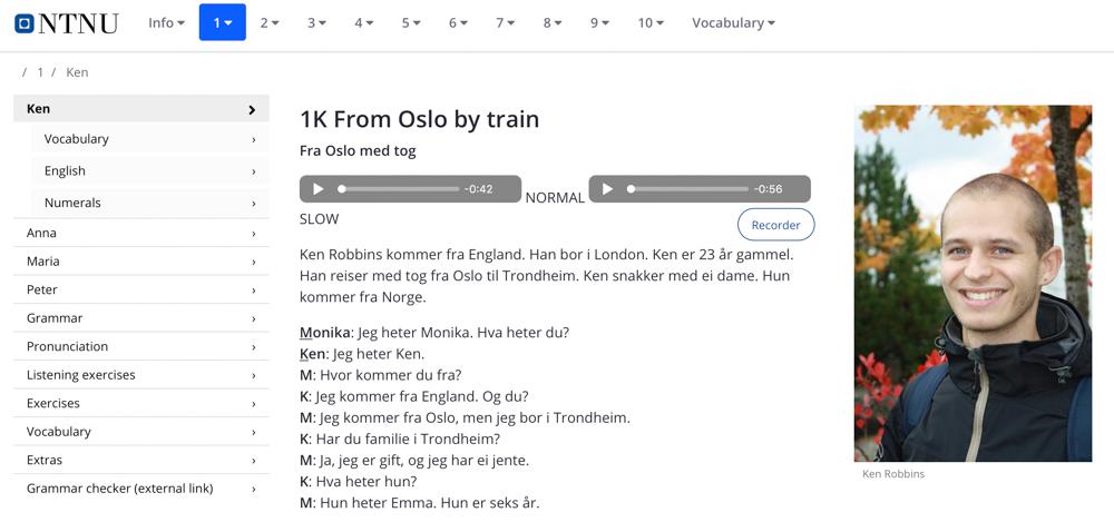 aprender noruego rapido