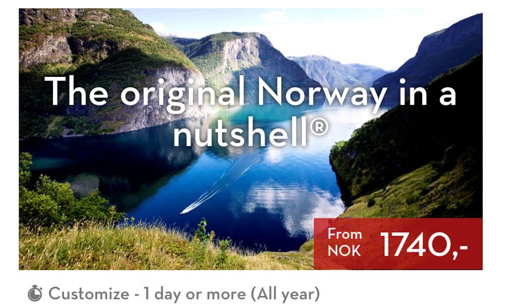 """<div class=""""su-list"""" style=""""margin-left:0px"""">En el caso de que estés en Voss y quieras hacer el Norway in a Nuthsell desde Voss, te ahorrarías los trenes de ida y vuelta de Bergen a Voss, lo que reduciría el precio de la excursión a 1.280 coronas.En el caso de que estés en Oslo y quieras hacer el Norway in a Nuthsell desde Oslo, también es posible pero piensa que los tiempos y los precios se disparan. Para mi, hacer un Norway in a Nutshell desde Oslo en el día no tiene ningún sentido.</div>"""