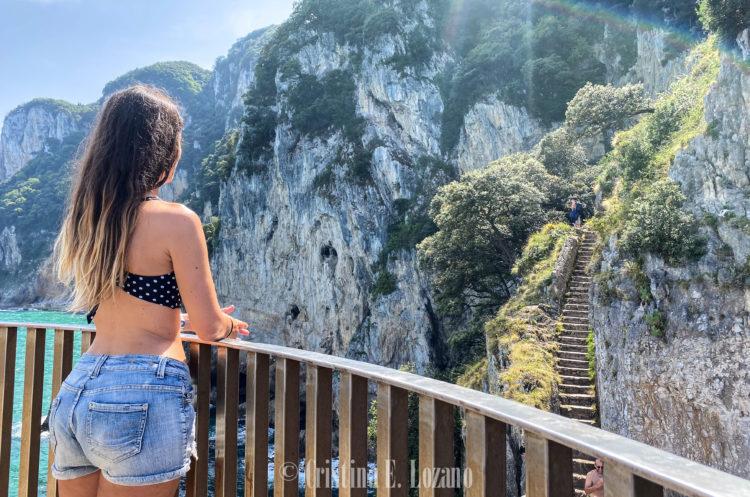 Escaleras Faro del Caballo-2